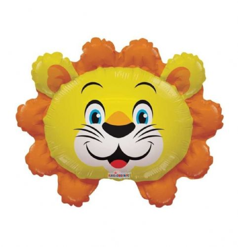 "14"" Lion Balloon - Uninflated - Requires Heat Seal"